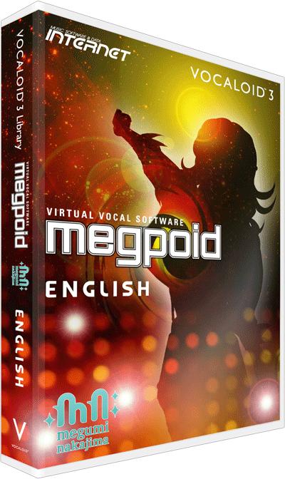 Virtual vocal software VOCALOID Megpoid English | INTERNET